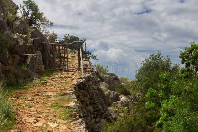 Camino de casa de Lycian imagen de archivo