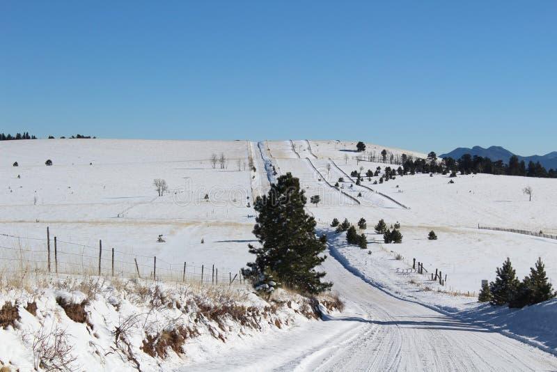 Camino de Colorado foto de archivo libre de regalías