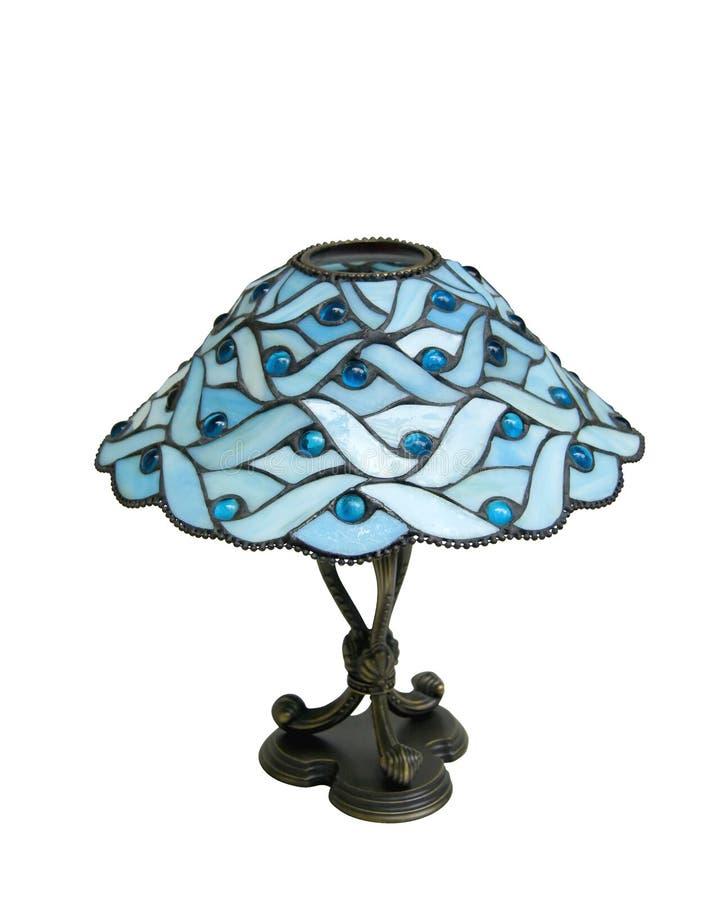 Camino de cristal de la lámpara w/clipping foto de archivo libre de regalías
