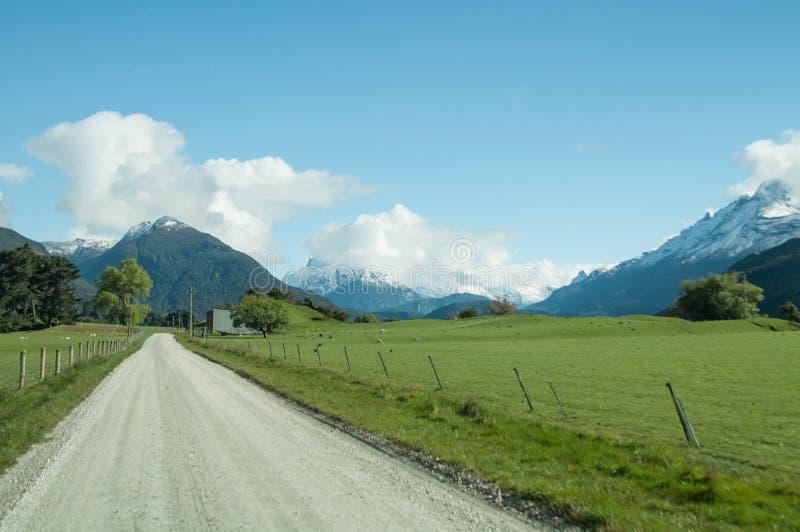 Camino de Glenorchy imagen de archivo
