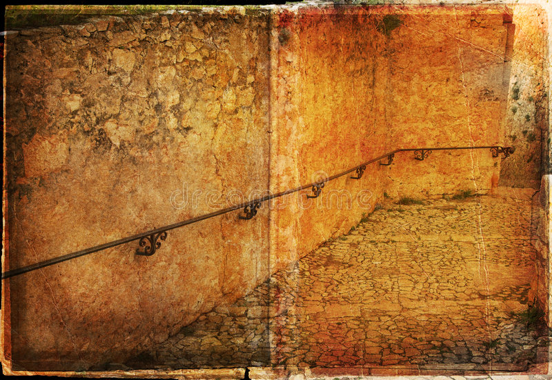 Camino de Grunge imagen de archivo libre de regalías