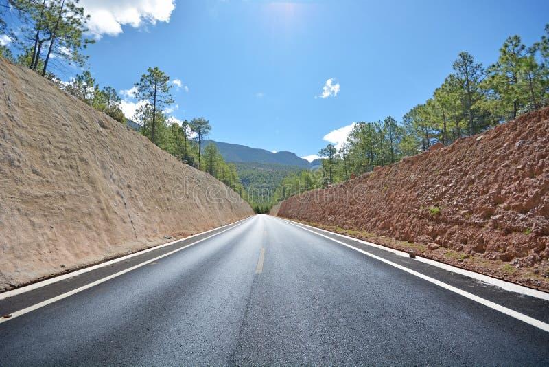 Camino de Higyway imagen de archivo