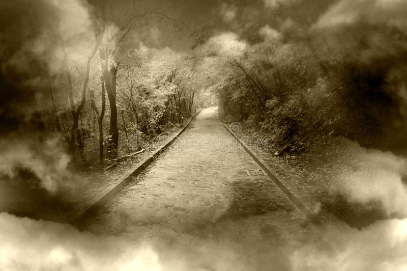 Camino de la fantasía imagenes de archivo
