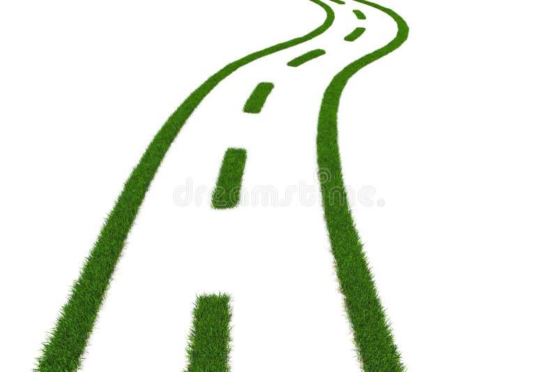 Camino de la hierba imagen de archivo