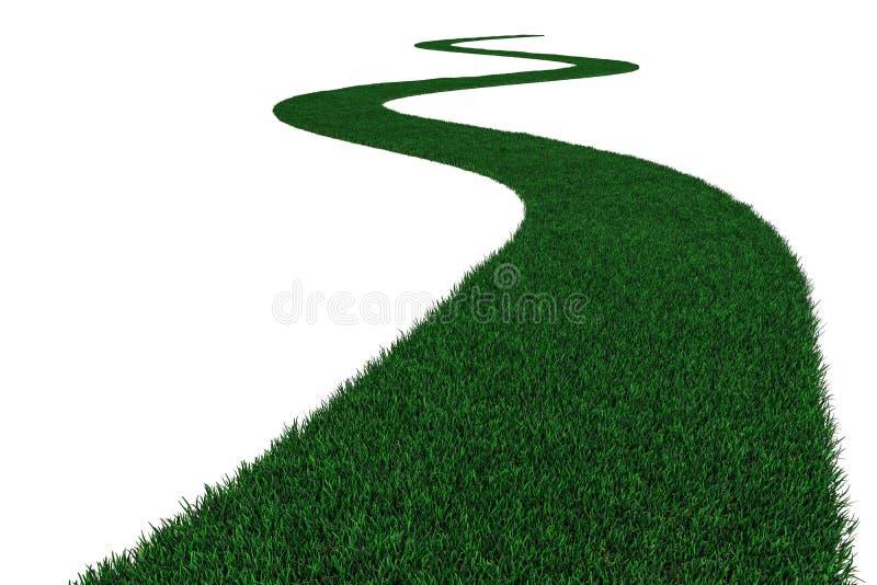 Camino de la hierba. libre illustration
