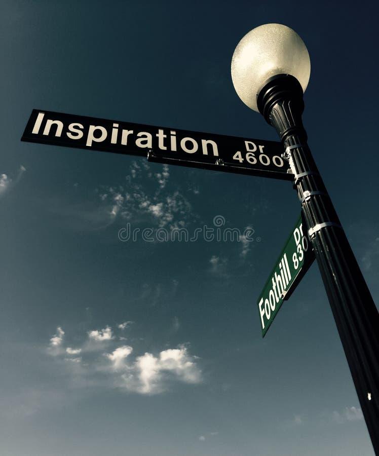 Camino de la inspiración foto de archivo libre de regalías