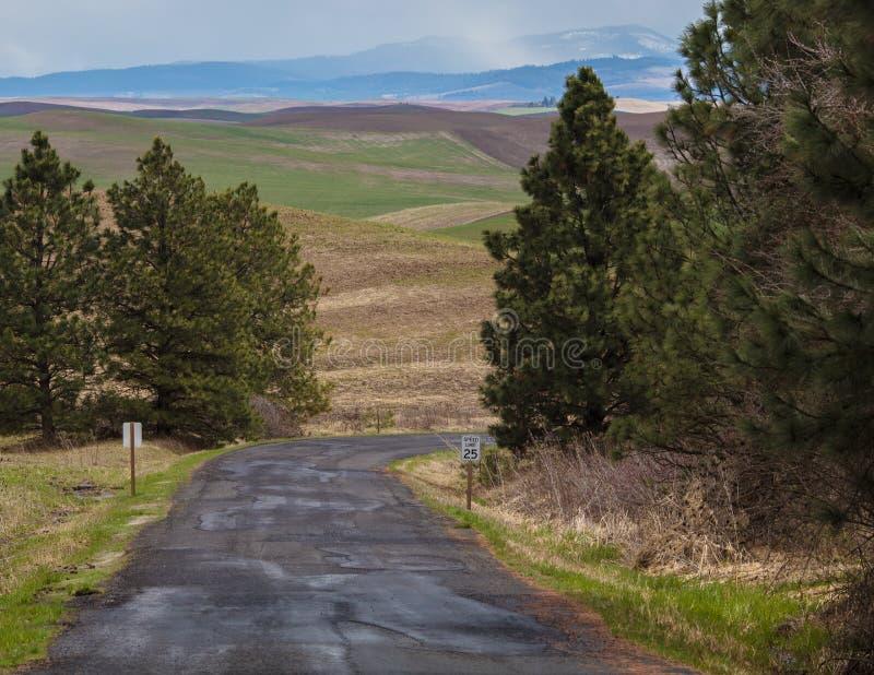 Camino de la mota de Steptoe foto de archivo libre de regalías
