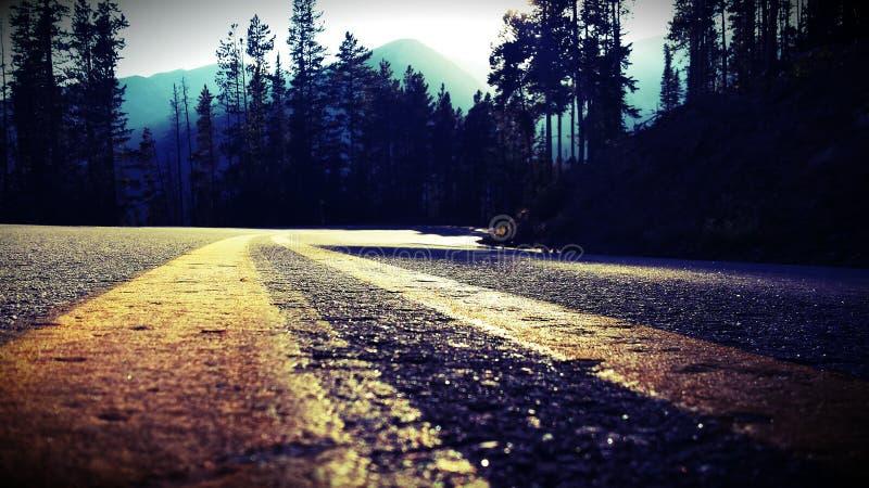 Camino de la serenidad foto de archivo libre de regalías