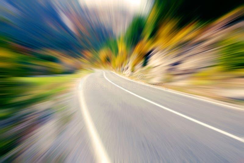 Camino de la velocidad foto de archivo libre de regalías