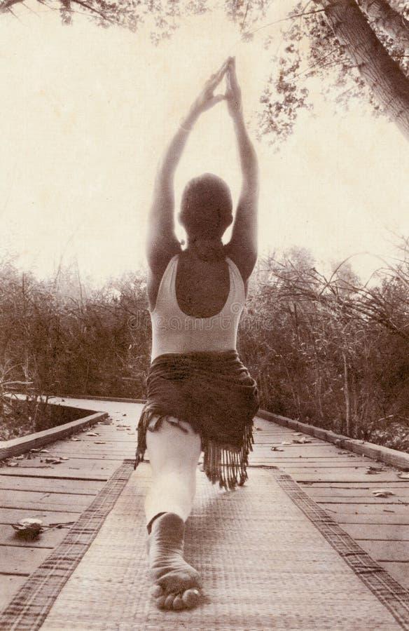 Camino de la yoga imagen de archivo libre de regalías