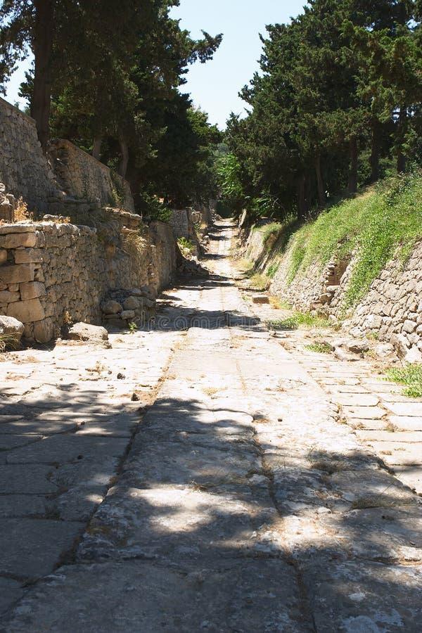 Camino de Minoan fotografía de archivo libre de regalías