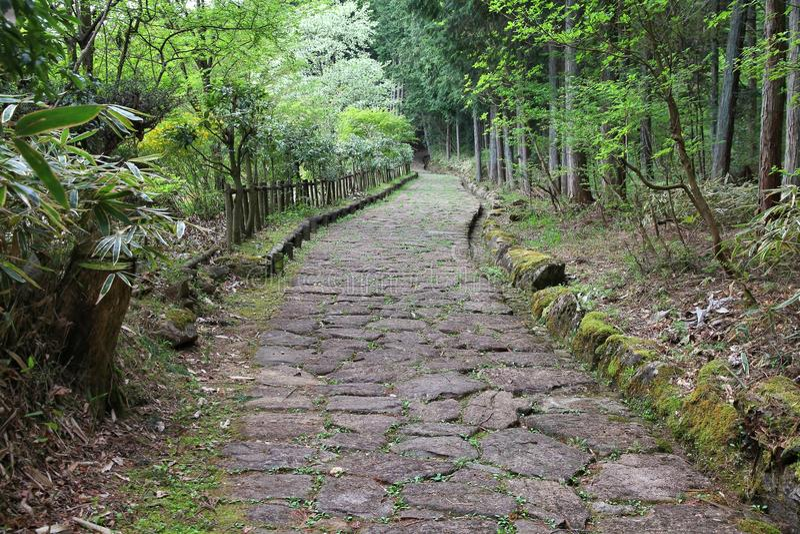 Camino de Nakasendo foto de archivo libre de regalías