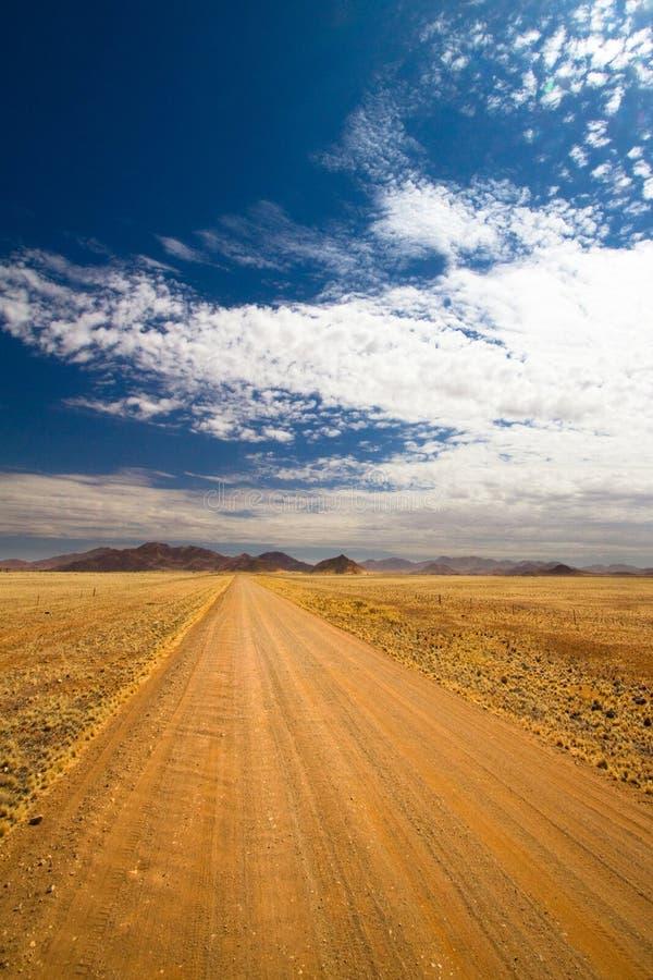 Camino de Namibia fotografía de archivo libre de regalías