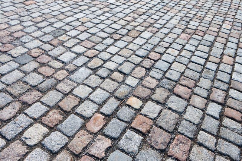 Camino de piedra pavimentado fotografía de archivo
