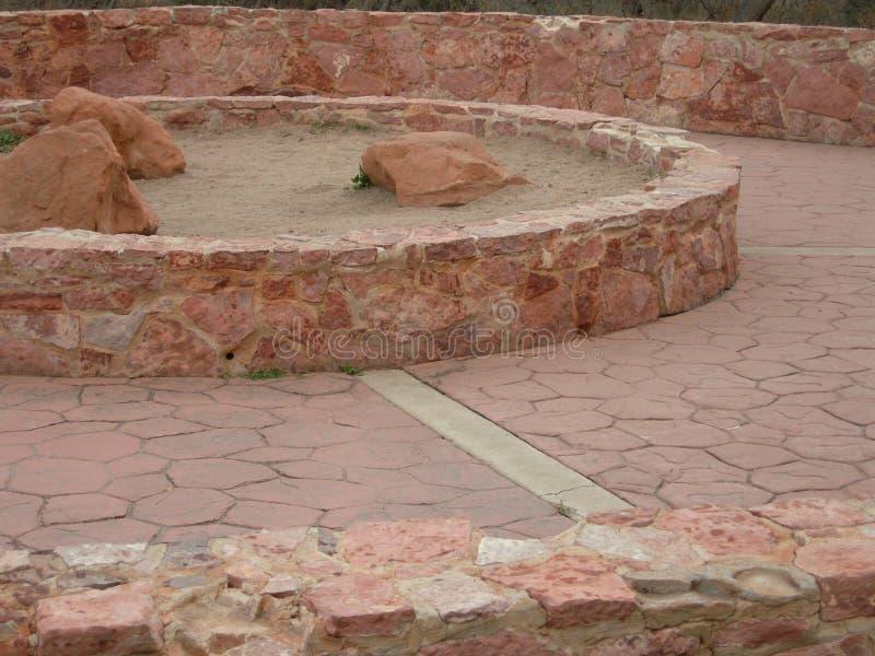 Download Camino de piedra redondo imagen de archivo. Imagen de estructura - 1296043