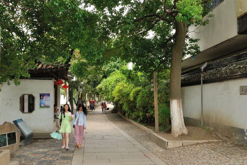 Camino de Pingjiang imagenes de archivo