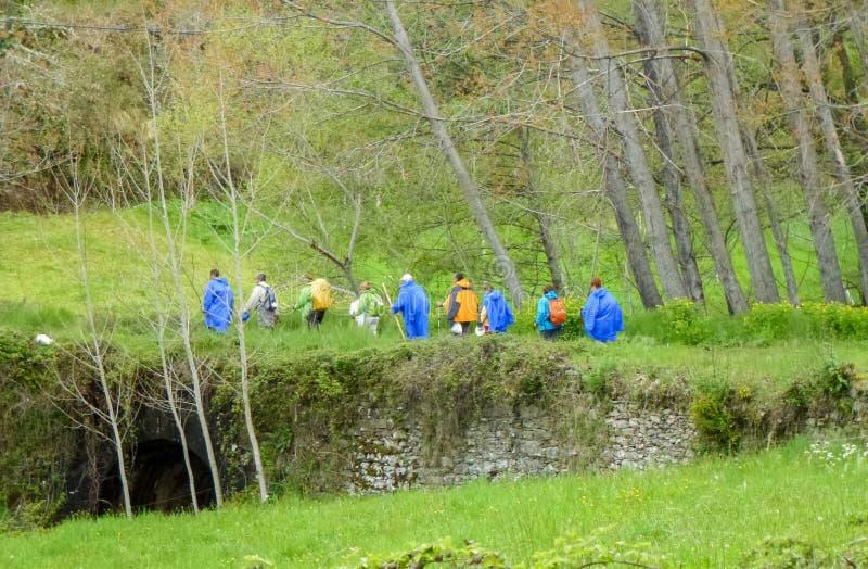 Camino DE Santiago royalty-vrije stock foto's