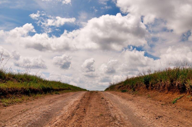 Camino de tierra rural imagen de archivo