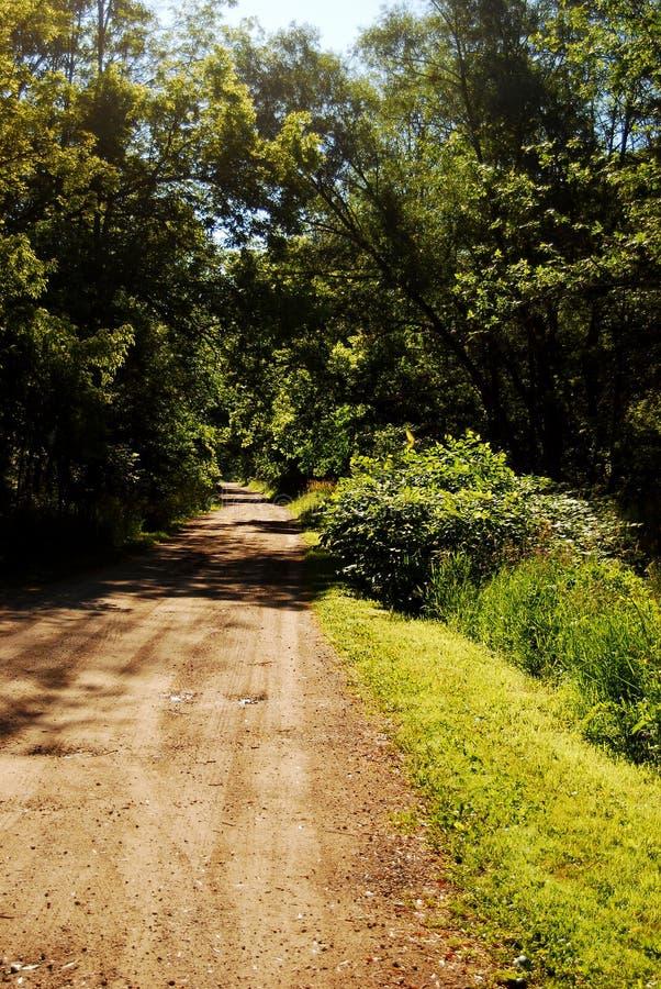 Camino de tierra viejo imagen de archivo libre de regalías