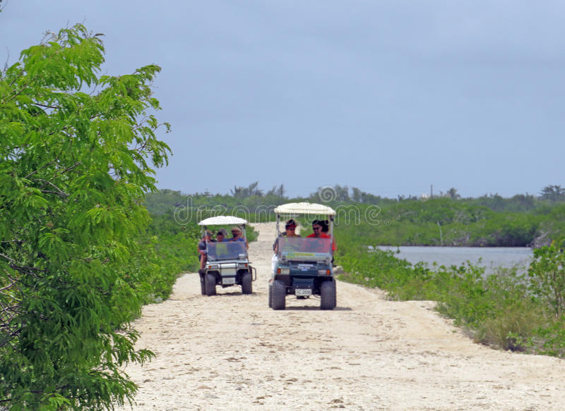 Camino del ámbar gris de Caye foto de archivo libre de regalías