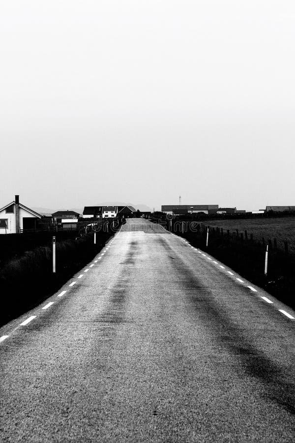 Camino del campo fotografía de archivo