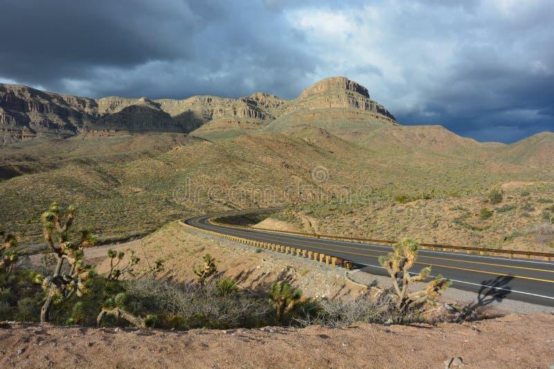 Camino del desierto - Grand Canyon fotografía de archivo