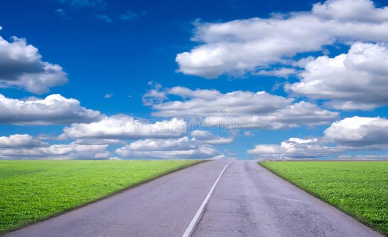 Camino del paisaje imagen de archivo