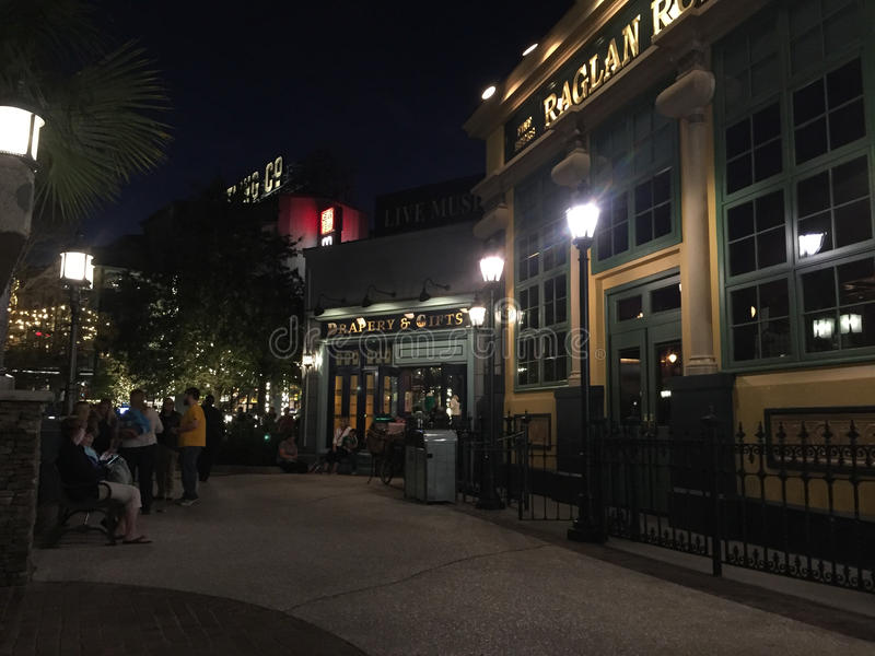 Camino del raglán, primaveras de Disney, Orlando, la Florida fotografía de archivo