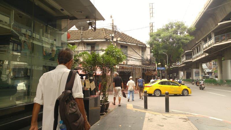 Camino del ` s de Saladang en mornning imágenes de archivo libres de regalías