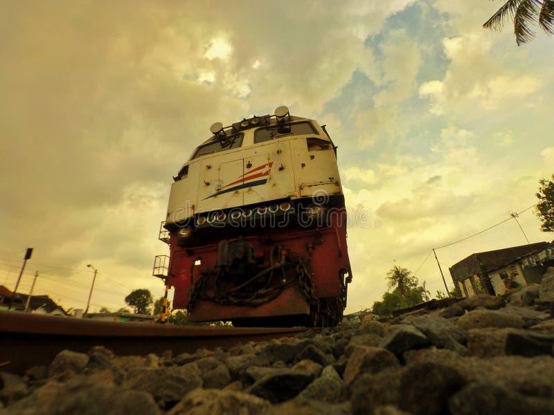 Camino del tren imagen de archivo libre de regalías
