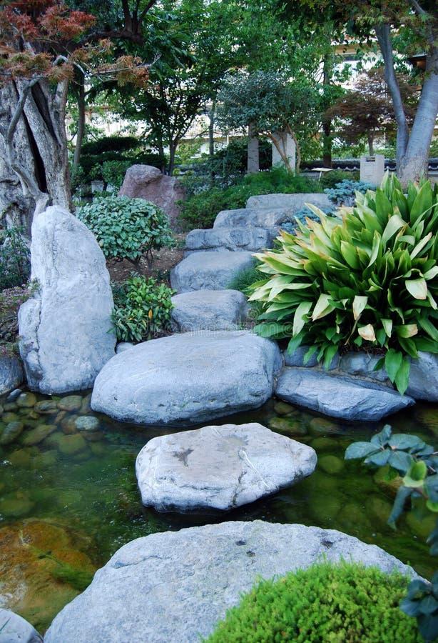 Camino del zen fotos de archivo libres de regalías