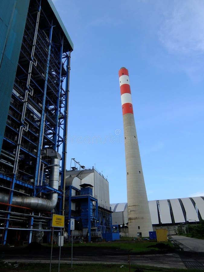Camino della centrale elettrica immagini stock libere da diritti
