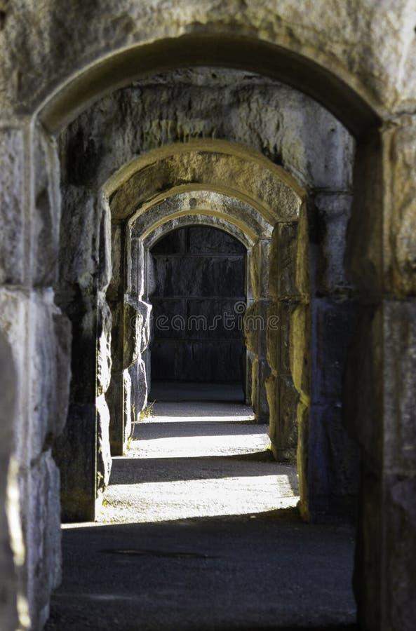 Camino en la fortaleza Popham imagen de archivo libre de regalías