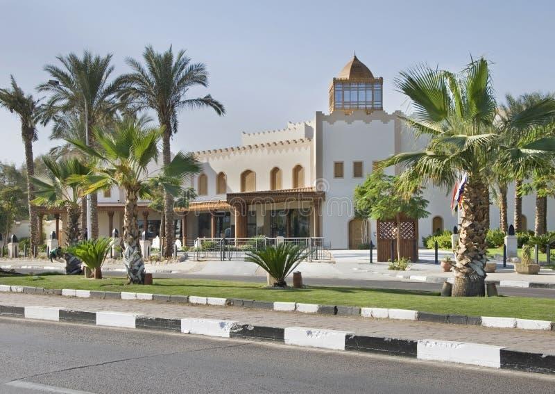 Camino en Sharm el-Sheikh Egipto fotografía de archivo