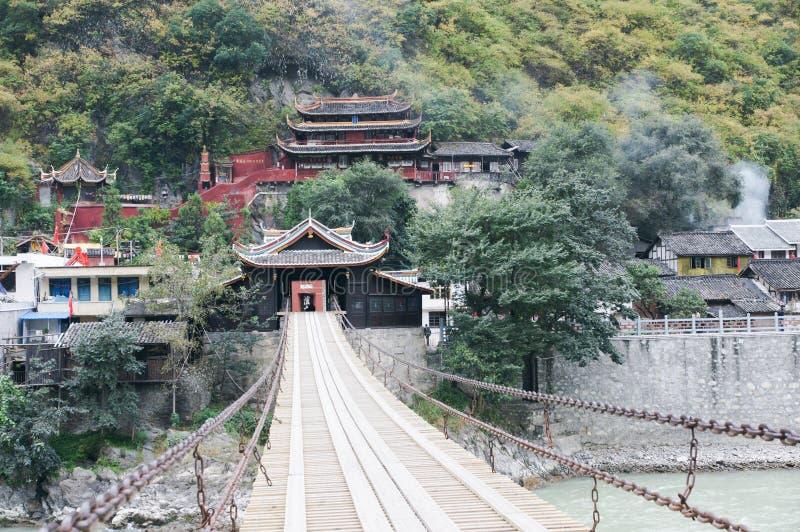 Camino escénico 318 del estado de China Sichuan imagenes de archivo