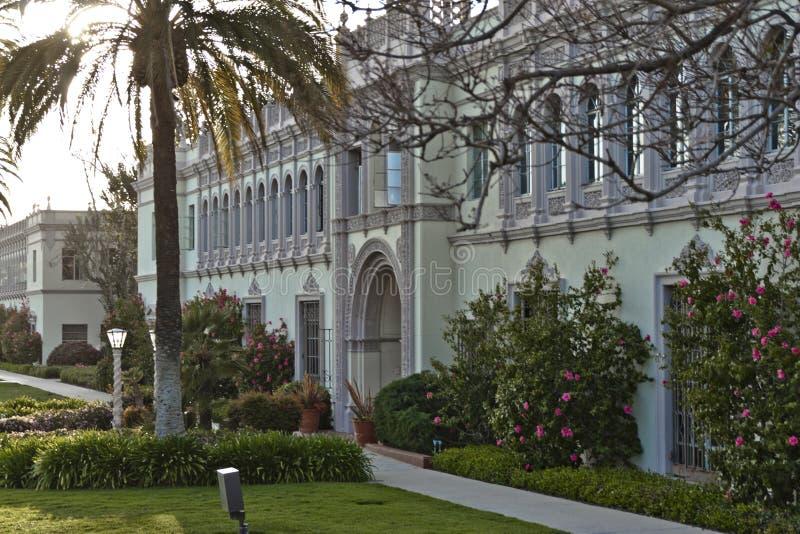 Camino Hall Building na faculdade de Direito de USD fotos de stock royalty free