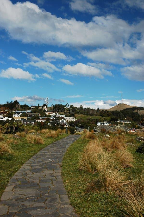 Camino a la colina de la cachemira fotografía de archivo libre de regalías
