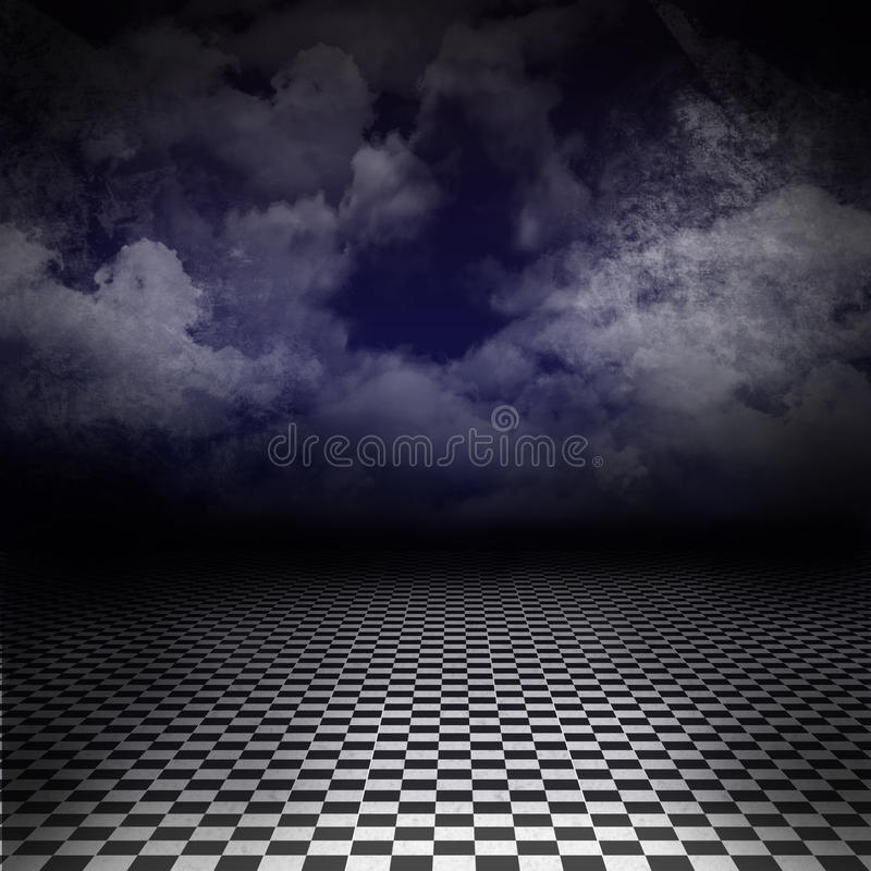 Camino a la pesadilla - imagen oscura vacía libre illustration