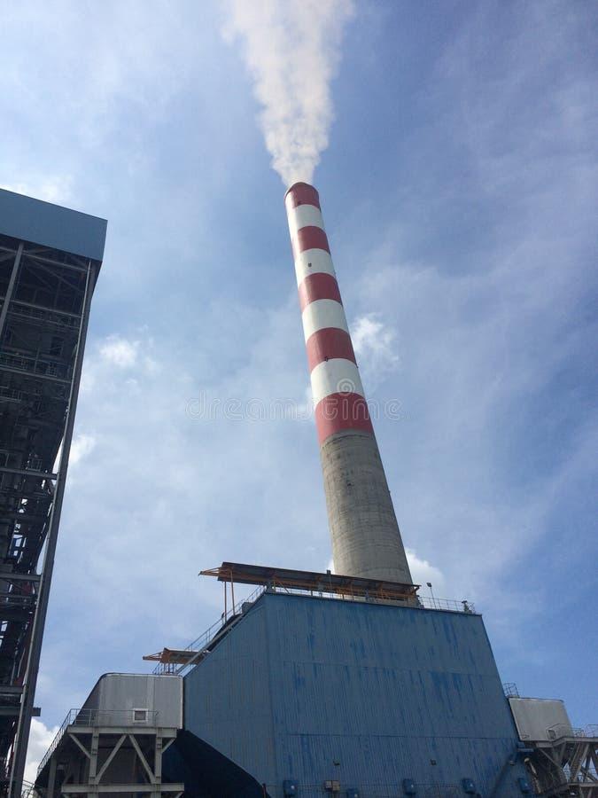 Camino nella centrale elettrica fotografia stock