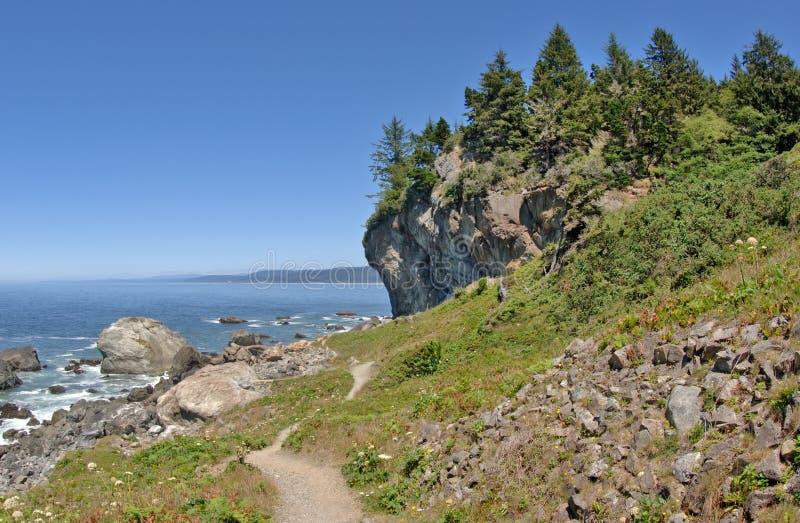 Camino por el Pacífico foto de archivo