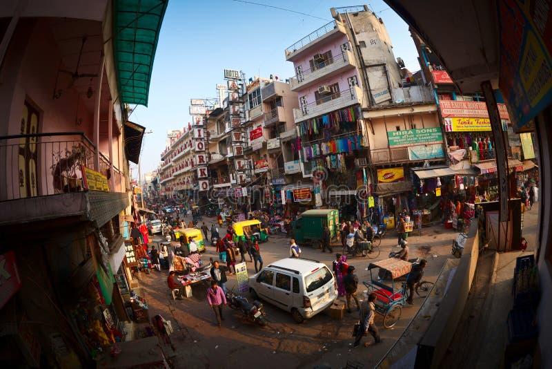 Camino principal del bazar foto de archivo