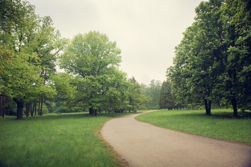 Camino que camina ancho fotos de archivo