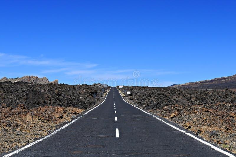 Camino Recto Imagen de archivo