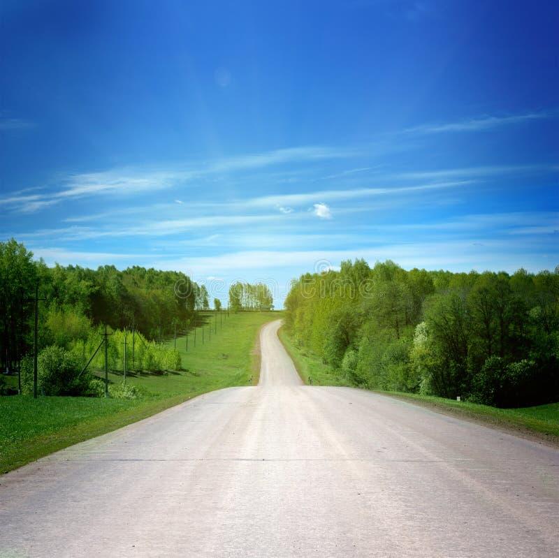Camino rural foto de archivo libre de regalías