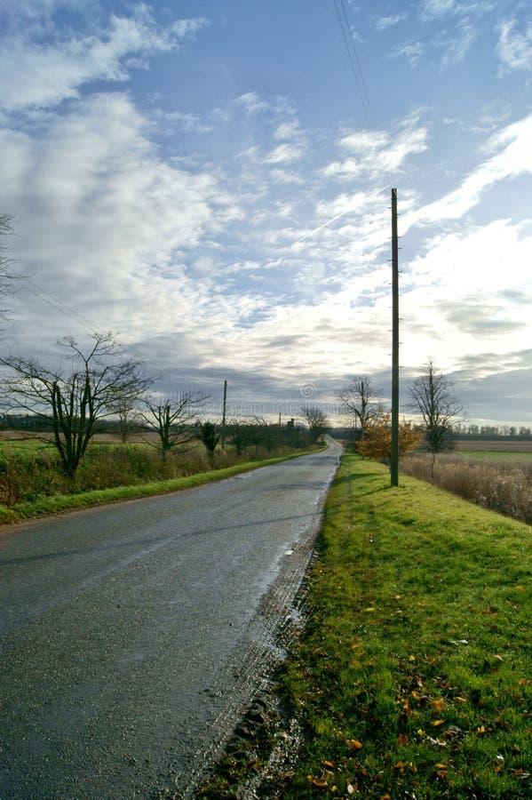 Camino rural imagen de archivo