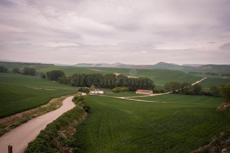 Camino Santiago stock afbeeldingen