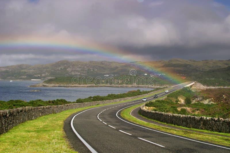 Camino a Skye imagenes de archivo