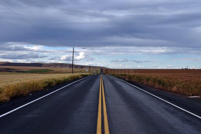 Camino trasero imagenes de archivo