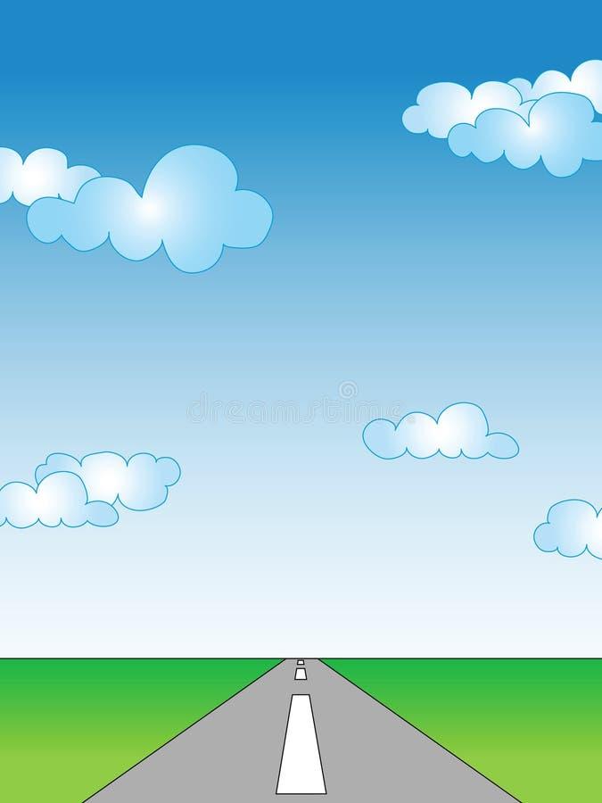 Camino vacío libre illustration