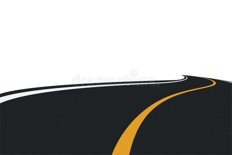 Camino (vector) ilustración del vector